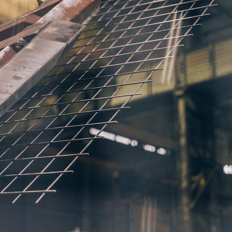 Treillis soudés pour béton armé thy-marcinelle